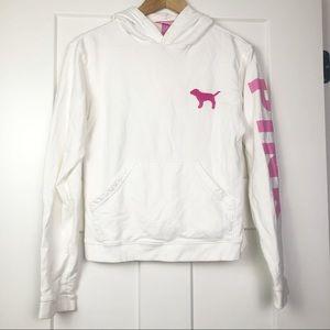 Victoria's Secret Pink Vintage Hoodie Small Dog